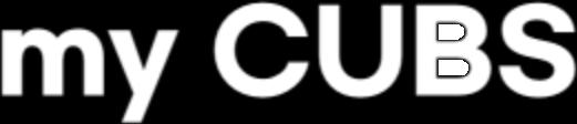 My CUBS text logo
